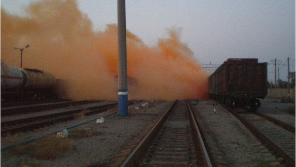 Утечка брома в Челябинске