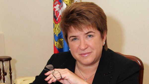 Руководитель Федеральной службы по надзору в сфере образования и науки РФ Любовь Глебова. Архив