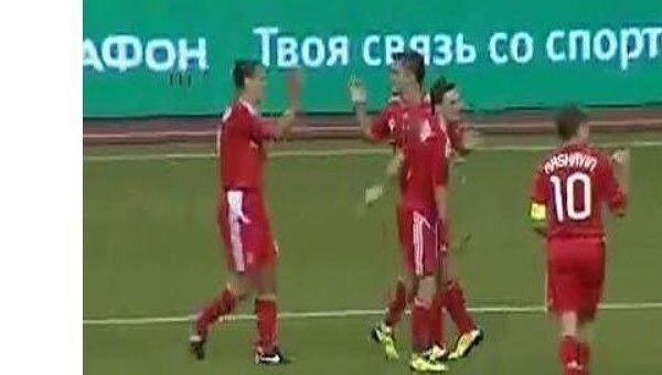 Игорь Семшов принес победу сборной России по футболу