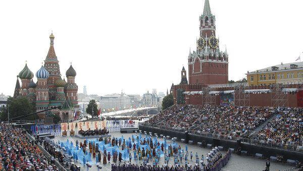 Мероприятия на Красной площади в День города