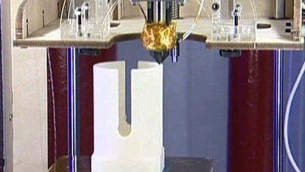 Уникальный принтер для печати твердых предметов придумали в США
