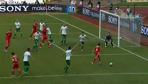 Лучшие моменты отборочного матча Евро-2012 Россия – Ирландия