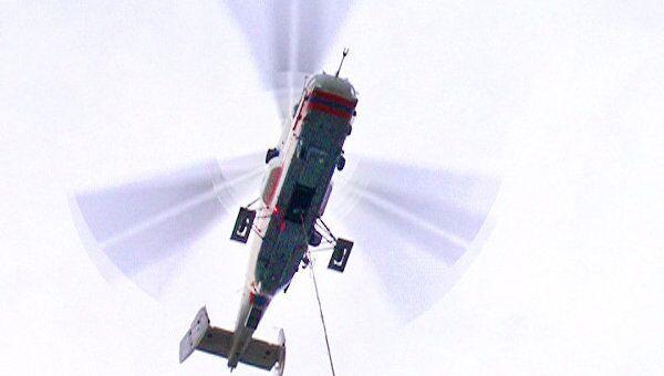 Пожар в бизнес-парке на западе Москвы тушили с помощью вертолетов
