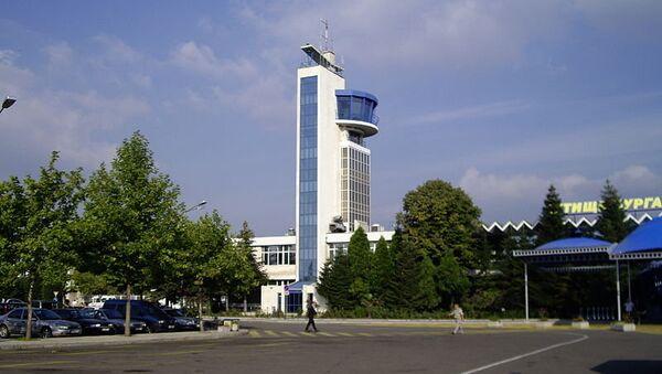 Аэропорт болгарского города Бургас
