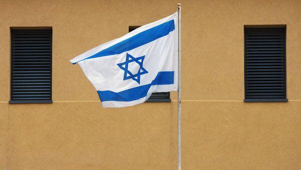 У посольства Израиля