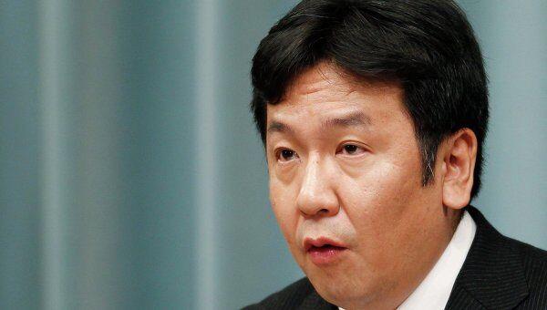 Генсек правительства Японии Юкио Эдано