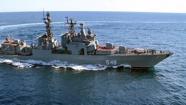 Большой противолодочный корабль Адмирал Пантелеев. Архив