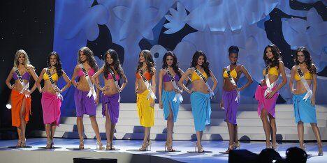Финалистки конкурса Мисс Вселенная 2011