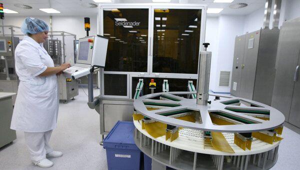 Завод по производству отечественной вакцины . Архивное фото