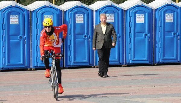 Общественные туалеты в Москве. Архив