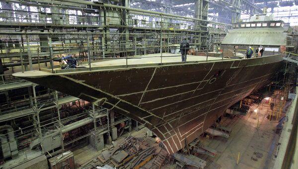 РФ потратит на строительство речных и морских судов 70 млрд руб
