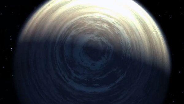Планета, похожая на Татуин из Звездных войн