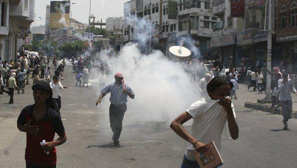 Столкновения в Йемене