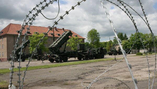 Американские ракеты Patriot в Польше. Архив