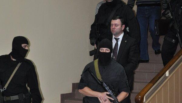 Задержание главы администрации города Смоленска Константина Лазарева. Архив