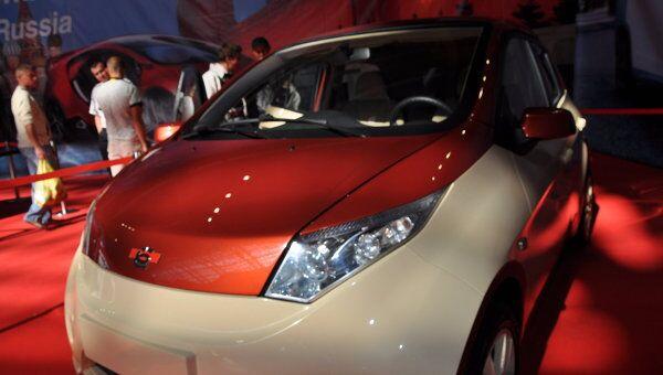 Автосалон Моторшоу в Минске представил сразу две модели ё-мобиля
