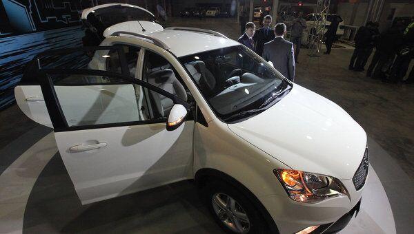 Автопроизводитель Sollers запустил на Дальнем Востоке серийное производство автомобилей SsangYong New Actyon. Архив