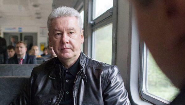 Мэр Москвы Сергей Собянин посетил Тушинский транспортно-пересадочный узел