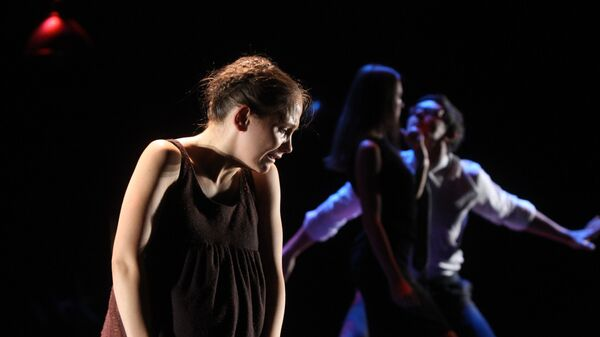 Прогон премьерного спектакля Мера за меру У. Шекспира в Театре имени Евг. Вахтангова