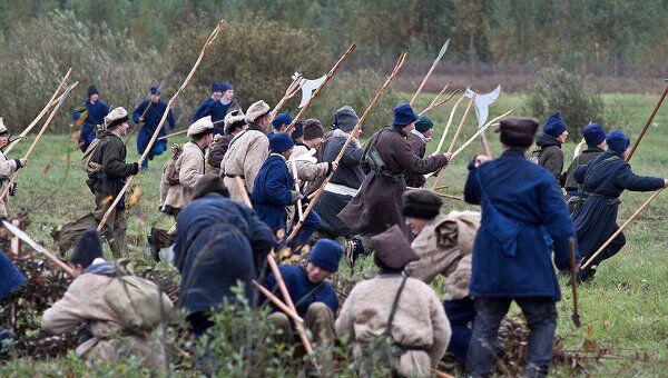 Пехотные и кавалерийские полки русской армии были сведены в дивизии (по шесть единиц в каждой)
