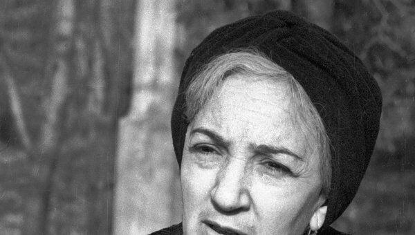 Кинорежиссер Татьяна Лиознова. Архив