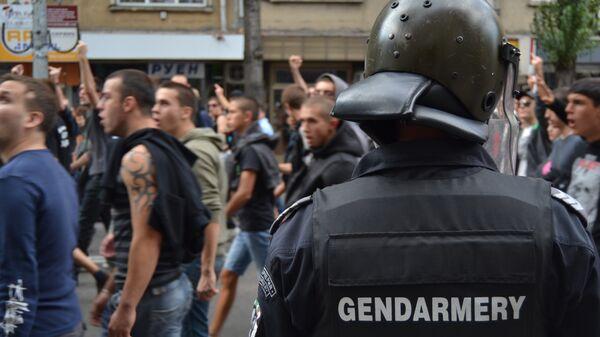 Антицыганский митинг в Софии