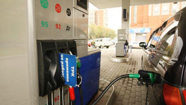 Резкий скачок цен на бензин в Новосибирске