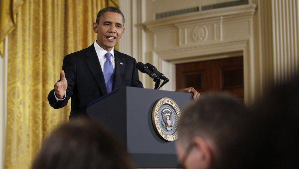 Пресс-конференция президента США Барака Обамы