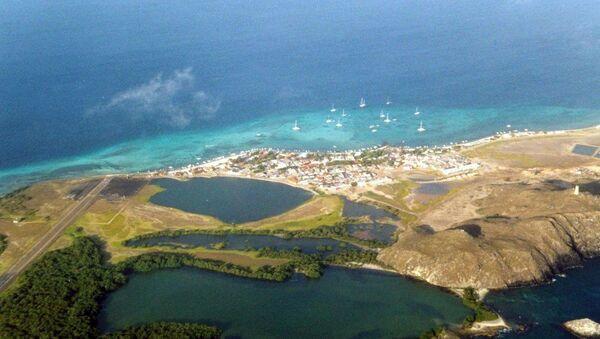 Вид на архипелаг в Карибском море. Архивное фото