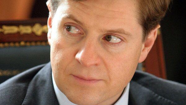 Президент Банка Москвы Андрей Бородин. Архив