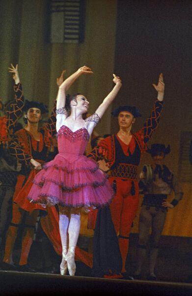 Нина Сорокина в балете Дон Кихот