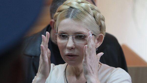 Юлия Тимошенко на заседании суда. Архив