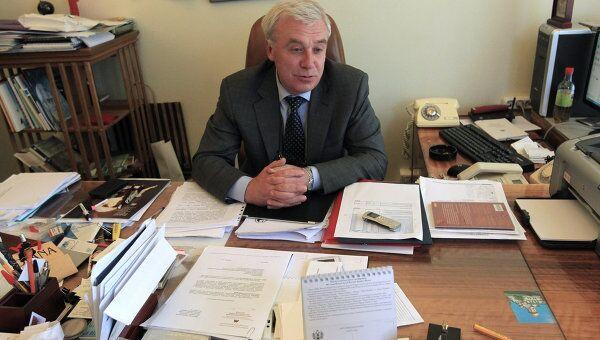 Директор Государственного Исторического музея Алексей Левыкин