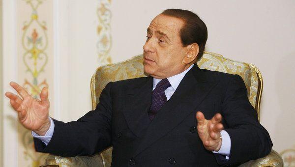 Берлускони заявляет, что следующая встреча лидеров большой двадцатки (G20) состоится на Сардинии по завершении июльского саммита G8