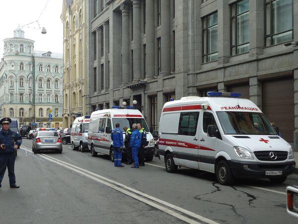 12 октября в центре Москвы в здании министерства финансов