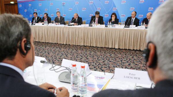 Пленарном заседании Консультативного совета по иностранным инвестициям. Архивное фото
