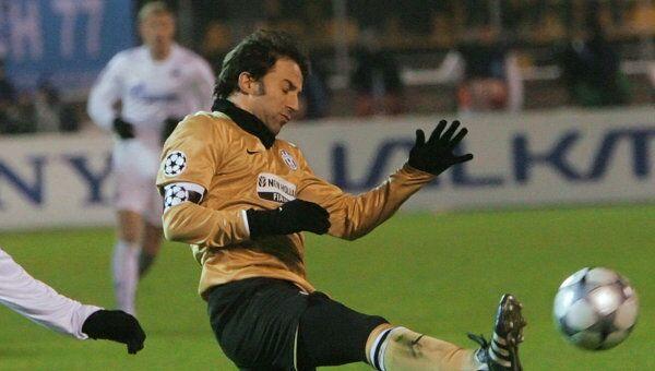 Фото алессандро дель пьеро, нападающий, капитан ювентуса