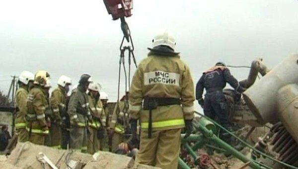 Мощный взрыв полностью разрушил котельную в Нальчике. Видео с места ЧП