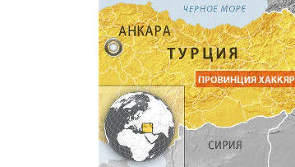Курдские боевики напали на турецких военных на юго-востоке Турции
