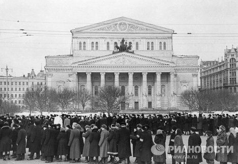 Прощание со И.В.Сталиным в Москве