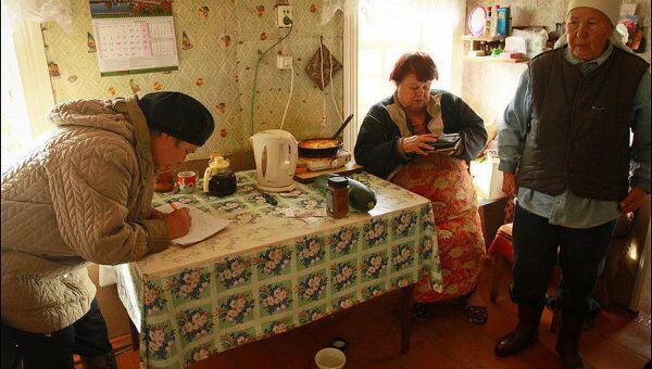 Социальный работник в деревне Озера