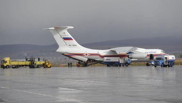 Российская гуманитарная помощь доставлена в Турцию