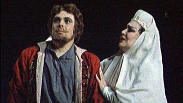 Архипова и Пьявко на сцене Большого театра. Фрагмент оперы Хованщина
