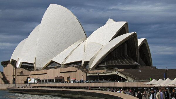 Здание Оперного театра в Сиднее