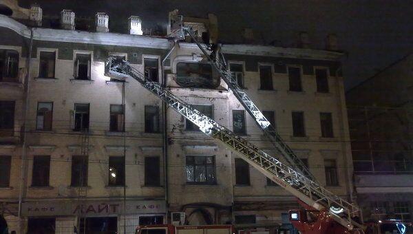 Пожар на Каретной улице