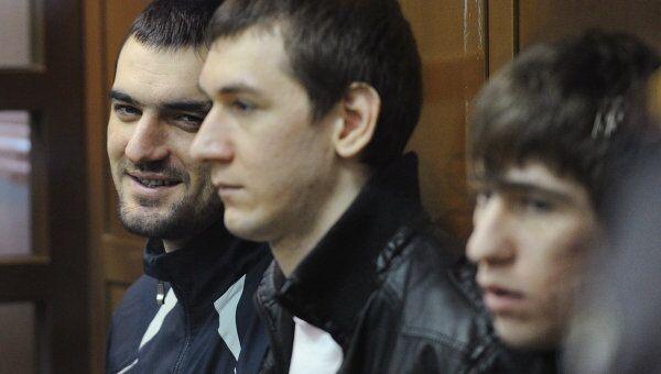 Оглашение приговора по делу об убийстве болельщика Спартака Егора Свиридова в Мосгорсуде