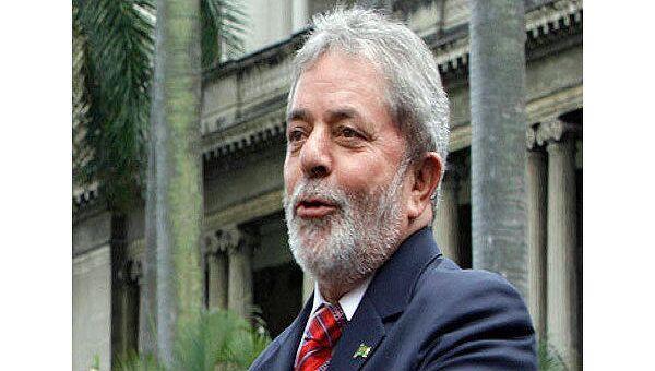 Президент Бразилии Луис Инасио Лула да Силва. Архив