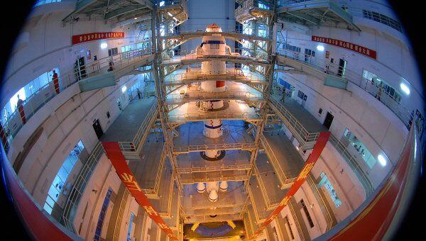 Новый китайский космический аппарат Шэньчжоу-7