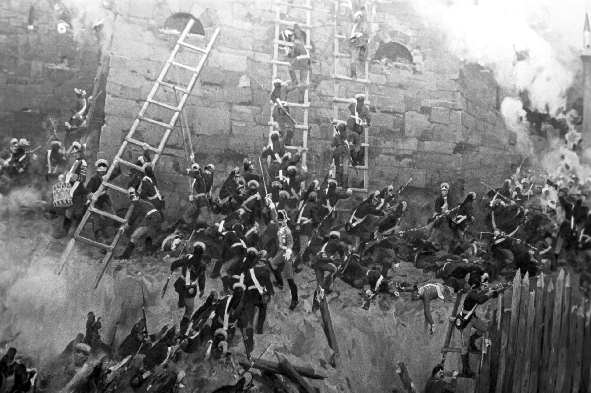 Фрагмент диорамы Штурм Измаила - РИА Новости, 1920, 22.03.2021