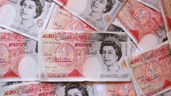 50-фунтовая банкнота Великобритании